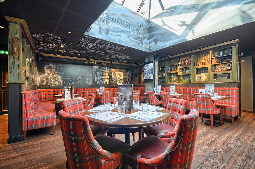 Restaurant lille The Sherlock Pub restau