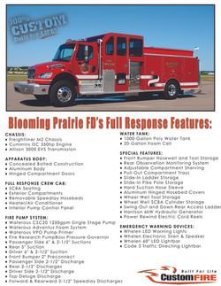 Blooming Prairie MN Vital Stats