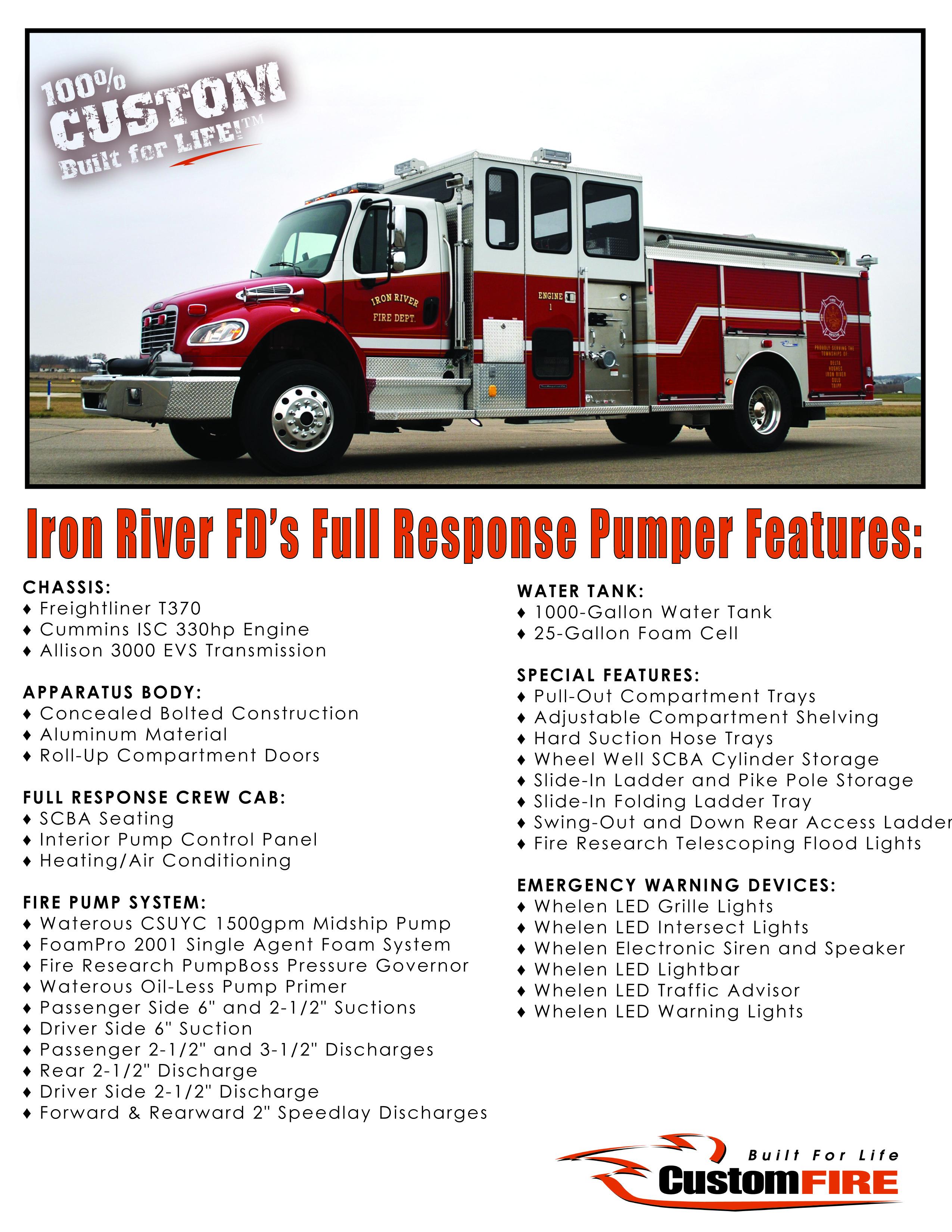 Iron River WI Vital Stats