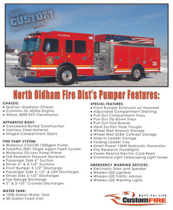 North Oldham KY Pumpers Vital Stats