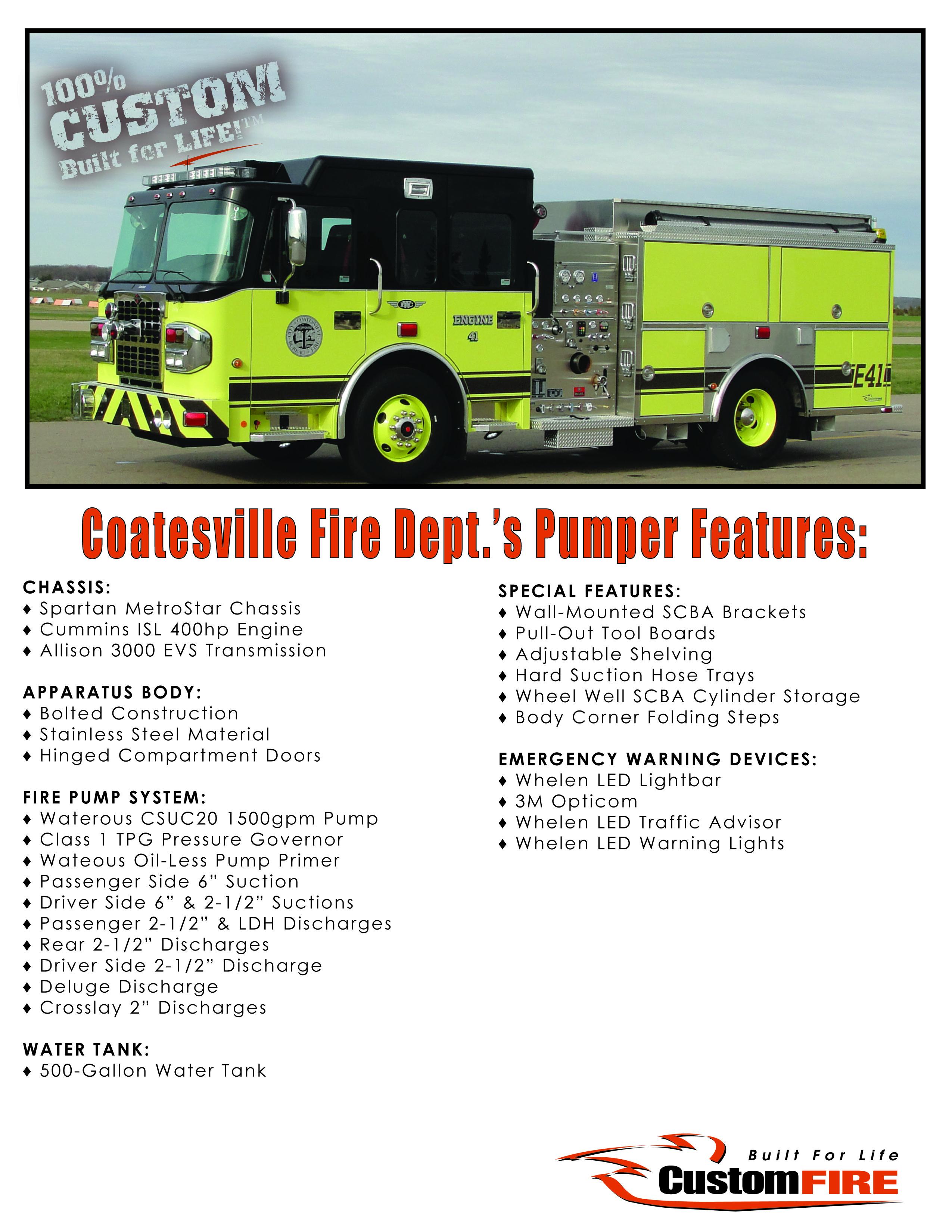 Coatesville PA Vital Stats