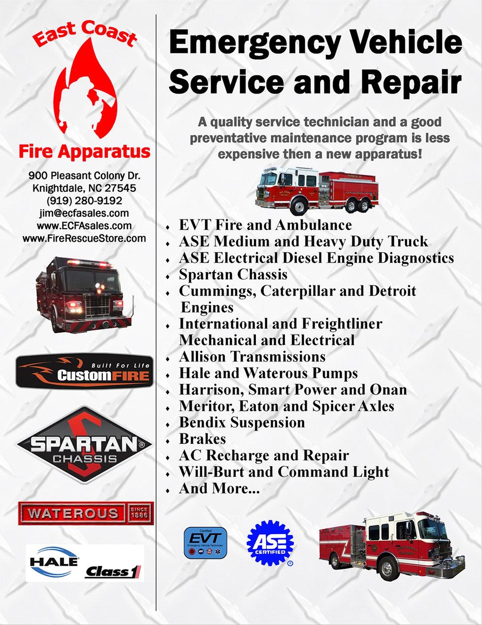 SERVICE | East Coast Fire Apparatus