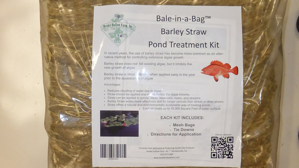 Barley Straw Kit