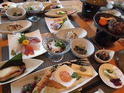 宴会の和食料理