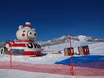 新潟県湯沢町岩原スキー場