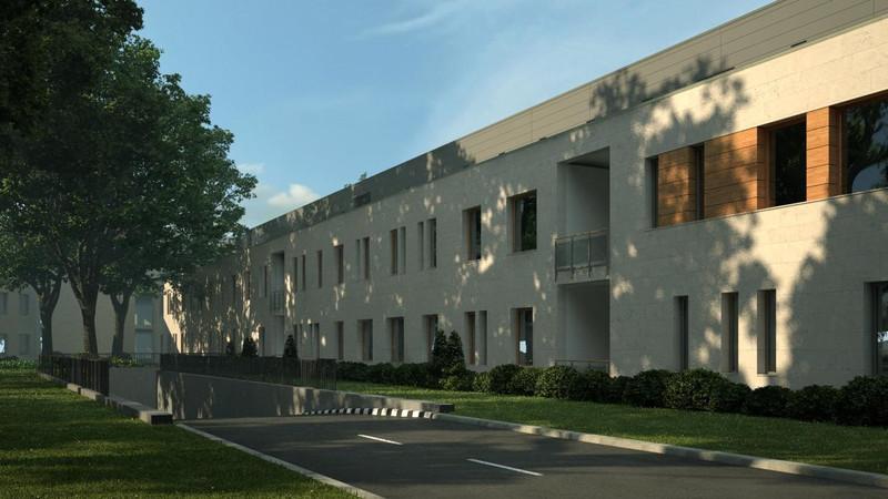Diagnosztikai épületszárny képe Észak-Keleti irányból