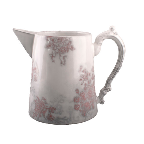 Courte Pitcher Red Floral