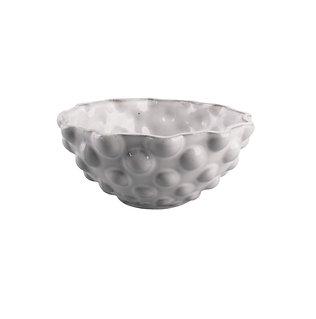 Scalloped Rim Pearl Bowl | medium