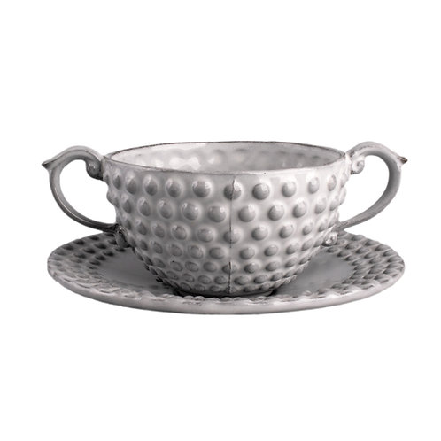 Sugar Bowl and Saucer