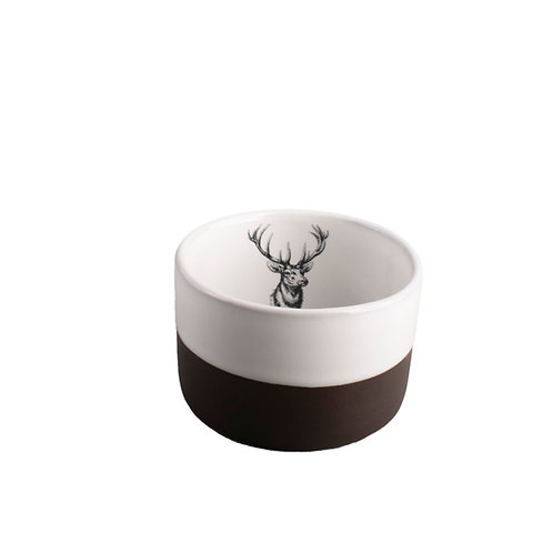 Big Buck Porcelain Whiskey Cup