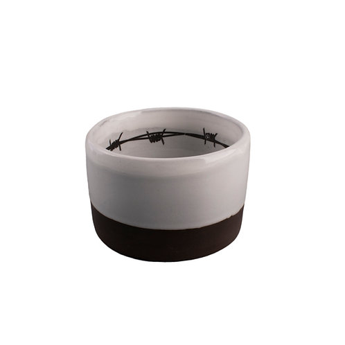 Barbed Wire Whiskey Cup