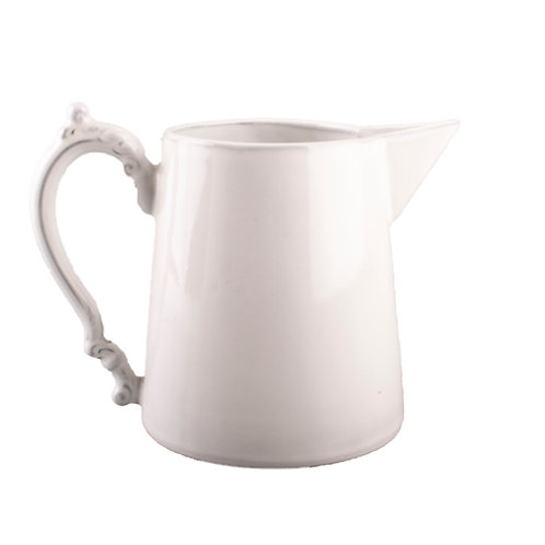 Courte Pitcher White