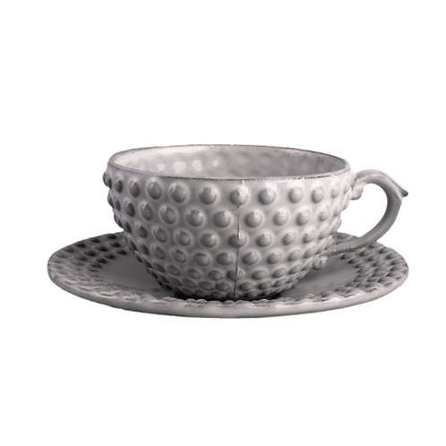 Pearl Tea Cup and Saucer