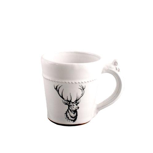 Vintage Porcelain Big Buck Coffee Cup
