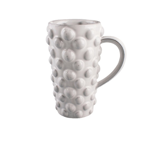 Porcelain Pearl Mug with Handle