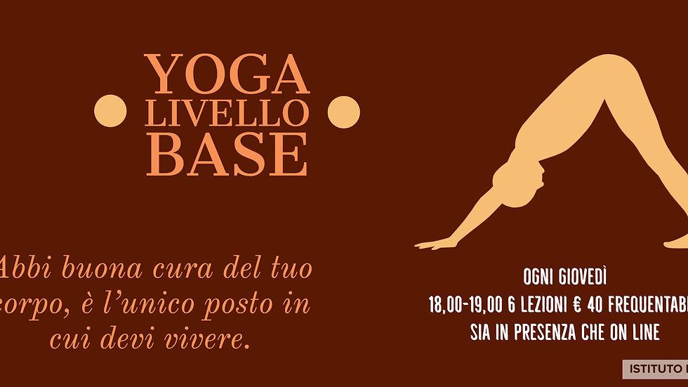 Copia di Pass 6 lezioni di Yoga Qualsiasi Corso