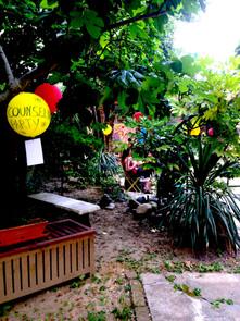 Il giardino dell'Istituto RES