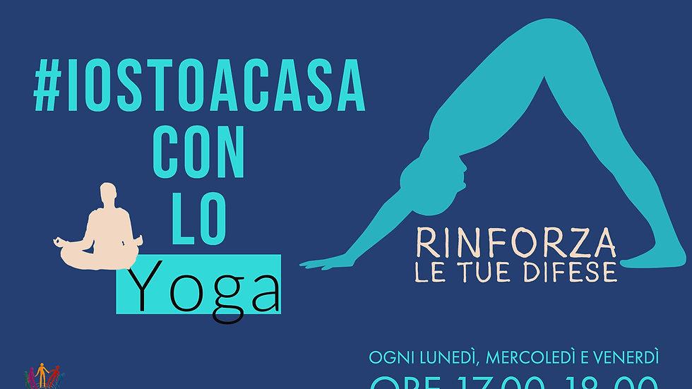 Pacchetto 3 sessioni di Yoga online