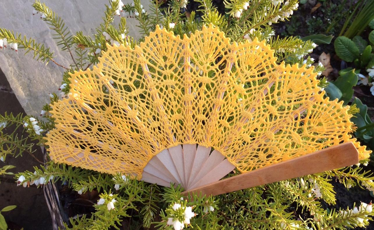 Saffron fan