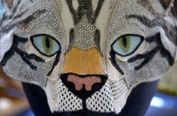 Scottish wildcat mask