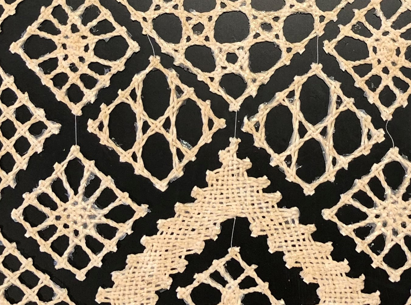 Elements of Lace (detail)