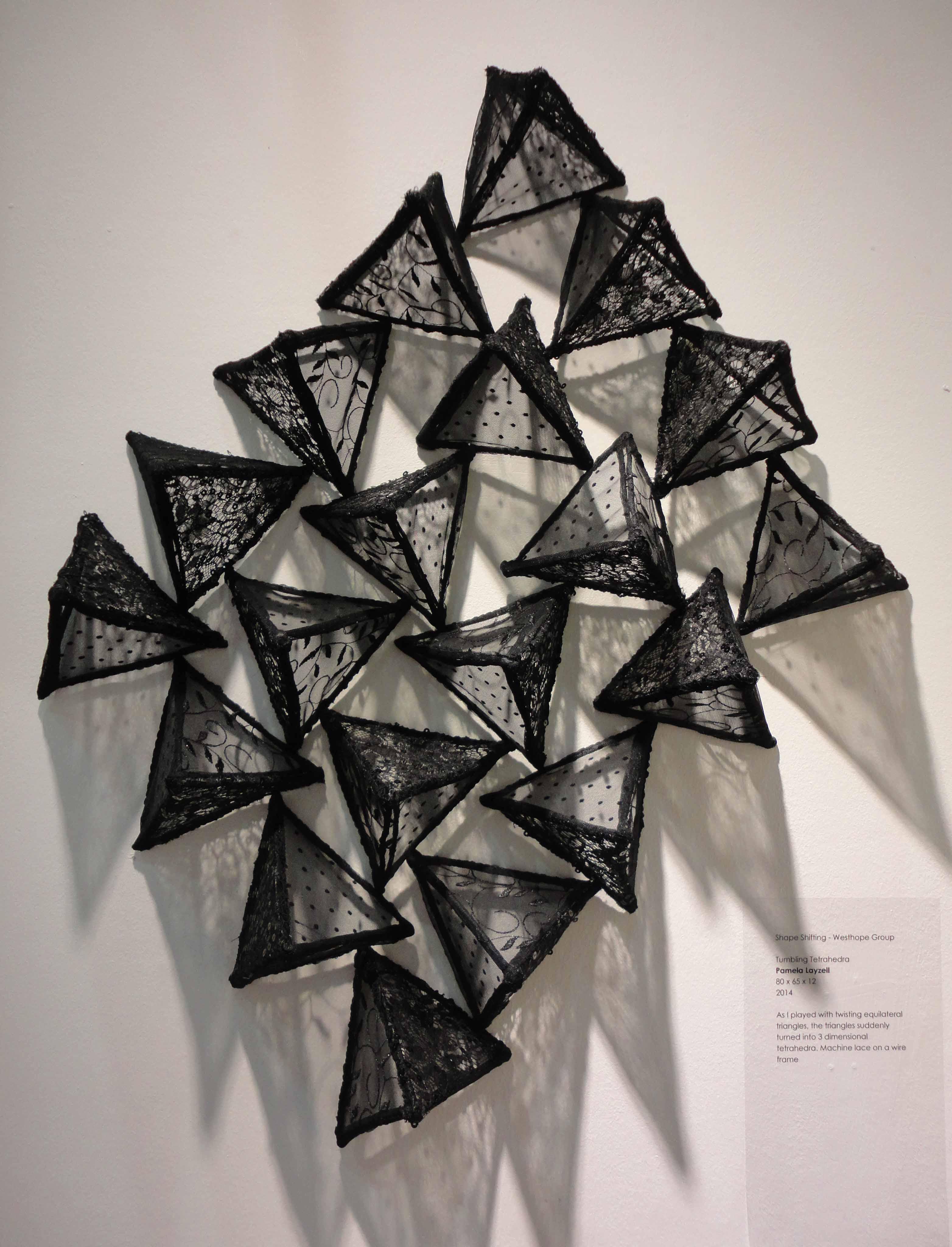 Tumbling tetrahedra