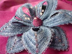 Braid lace flower