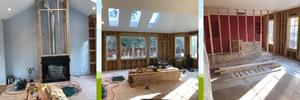 Progress Photos - Paradigm Interior Design