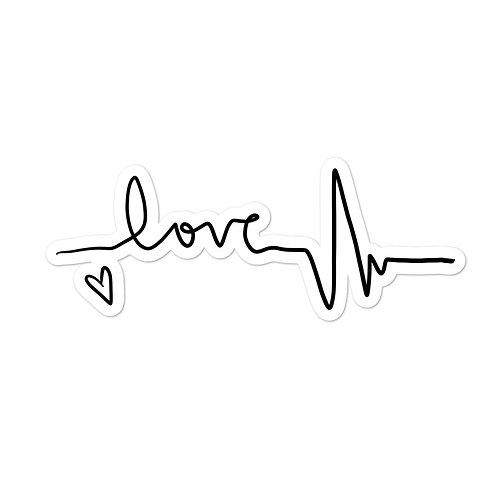 Love Beat Sticker