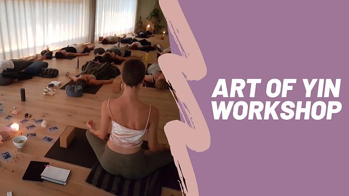 Art of Yin Workshop