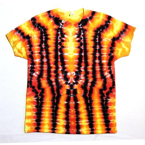 Wig Wag Fire Tie Dye - Size: XL