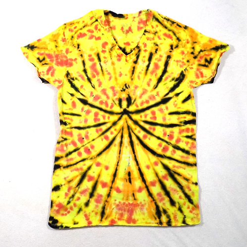 Black and Yellow Spider - Size: M (V-Neck)