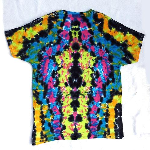 Wild Rorschach Tie Dye - Size: L