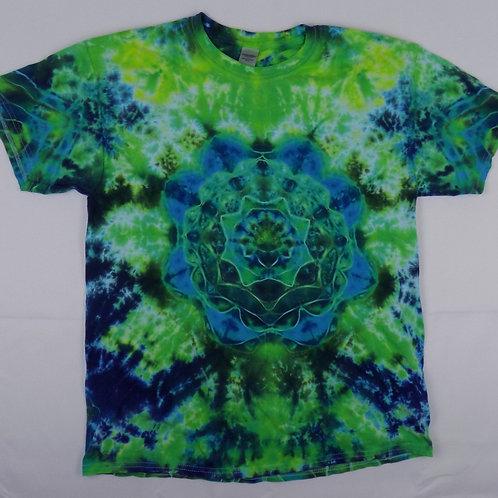 Blue Green Mandala LG