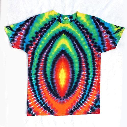 Celebration Flames Tie Dye - Size: L