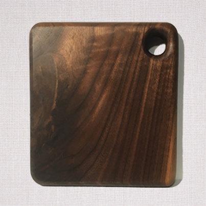 """Solid Walnut Cutting Board - 7""""x7"""""""