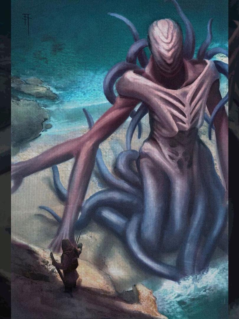 Concept. Eldrazi/Lovecraftian