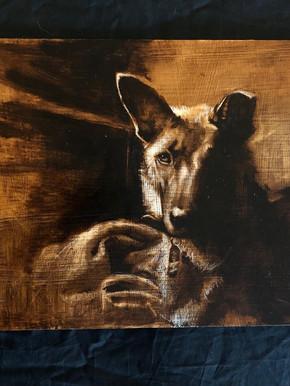 Painting. Ottie