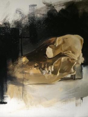 Painting. Dream Skull