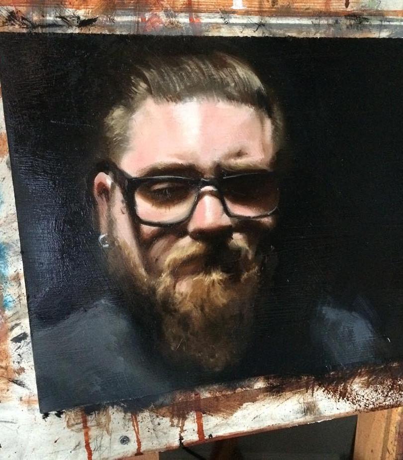 Painting. Cody