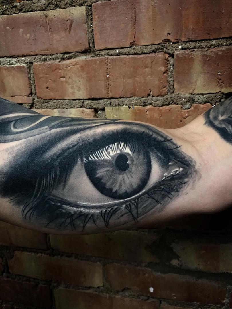 Healed Eye