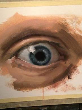 Painting. Eye