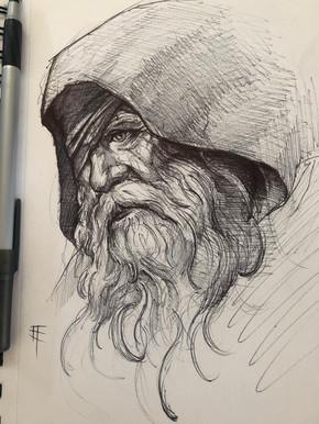 Pen/Marker. Odin