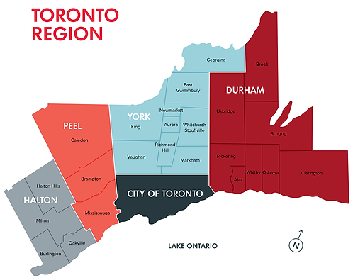 Toronto-Regional-Map-(with-municipalitie