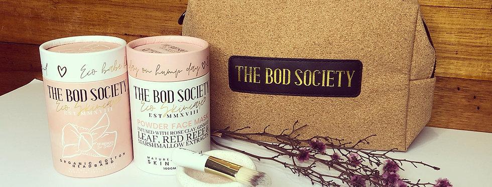 The Bod Society Illuminate Pamper Facial Kit