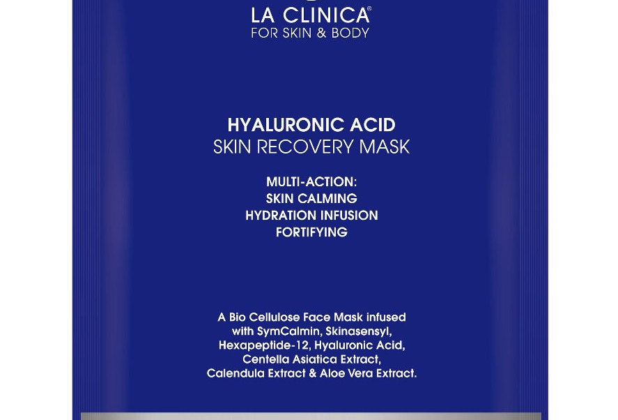 x 2 for Hyaluronic Acid Skin Recovery Facial Sheet Mask