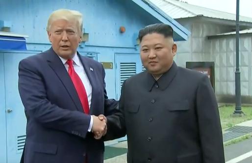 Visite historique de Donald Trump en Corée du Nord