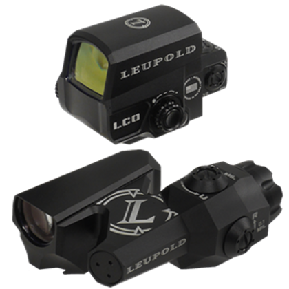 Leupold D-EVO w/Leupold Carbine Optic (LCO) Red Dot CMR-W 1 MOA Dot