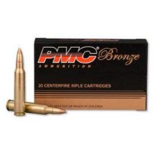 FEDERAL PMC BRONZE .223  55 grain FMJ BT  20 round box