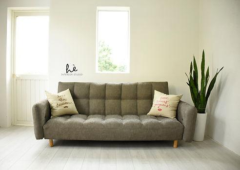 Sofa bed bông mây